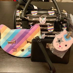 Betsey Johnson Satchel and Coin Purse